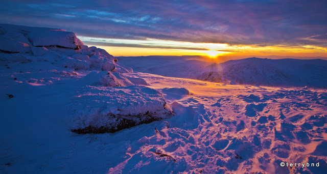 dawn from cairn gorm