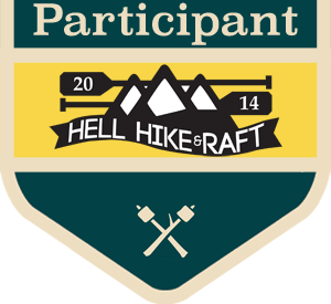 Hell Hike and Raft Participant